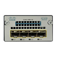 Модуль Cisco C3KX-NM-1G 4 порта 1000Base-X (SFP), для коммутаторов Cisco 3750X