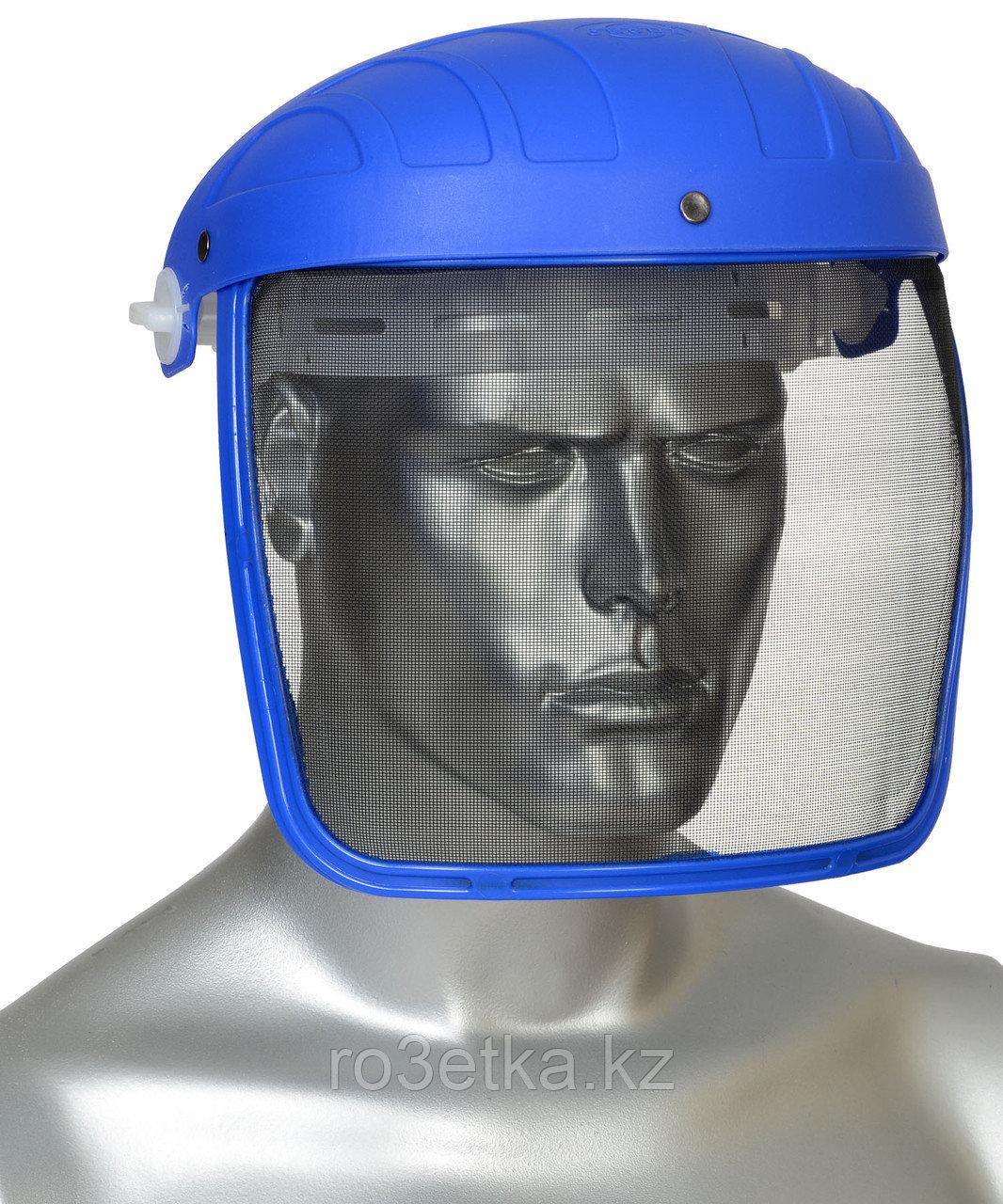Щиток защитный НС-01 Люкс (мелкоячеистая металлическая сетка)