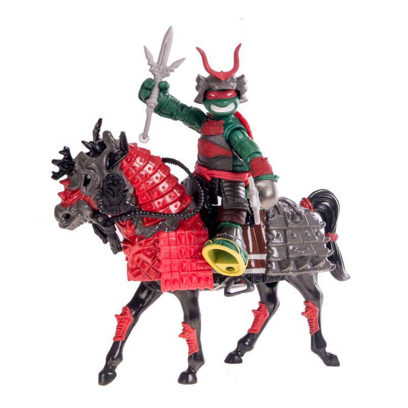 Всадник Черепашки-ниндзя Самурай Раф на коне