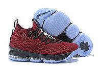 "Баскетбольные кроссовки Nike LeBron XV (15) ""Vine Red/Black/White"" (40-46), фото 1"
