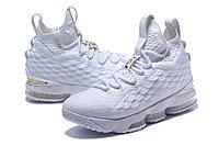 "Баскетбольные кроссовки Nike LeBron XV (15) ""White/Gold"" (40-46), фото 5"