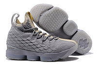 """Баскетбольные кроссовки Nike LeBron XV (15) """"Pure Platinum"""" Zipper (40-46), фото 1"""