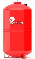Гидроаккумулятор (расширительный бак) 150 вертикальный (красный) Wester Line