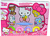 QL-E557 Hello Kitty платислин с формами  27*36