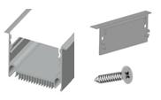 Заглушка для ЛСВ 70 универсальная с 2 шт. саморезов