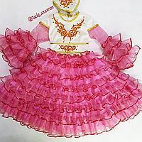 Казахское национальное платье для девочек , фото 1