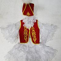 Казахское национальное платье для девочек, фото 1