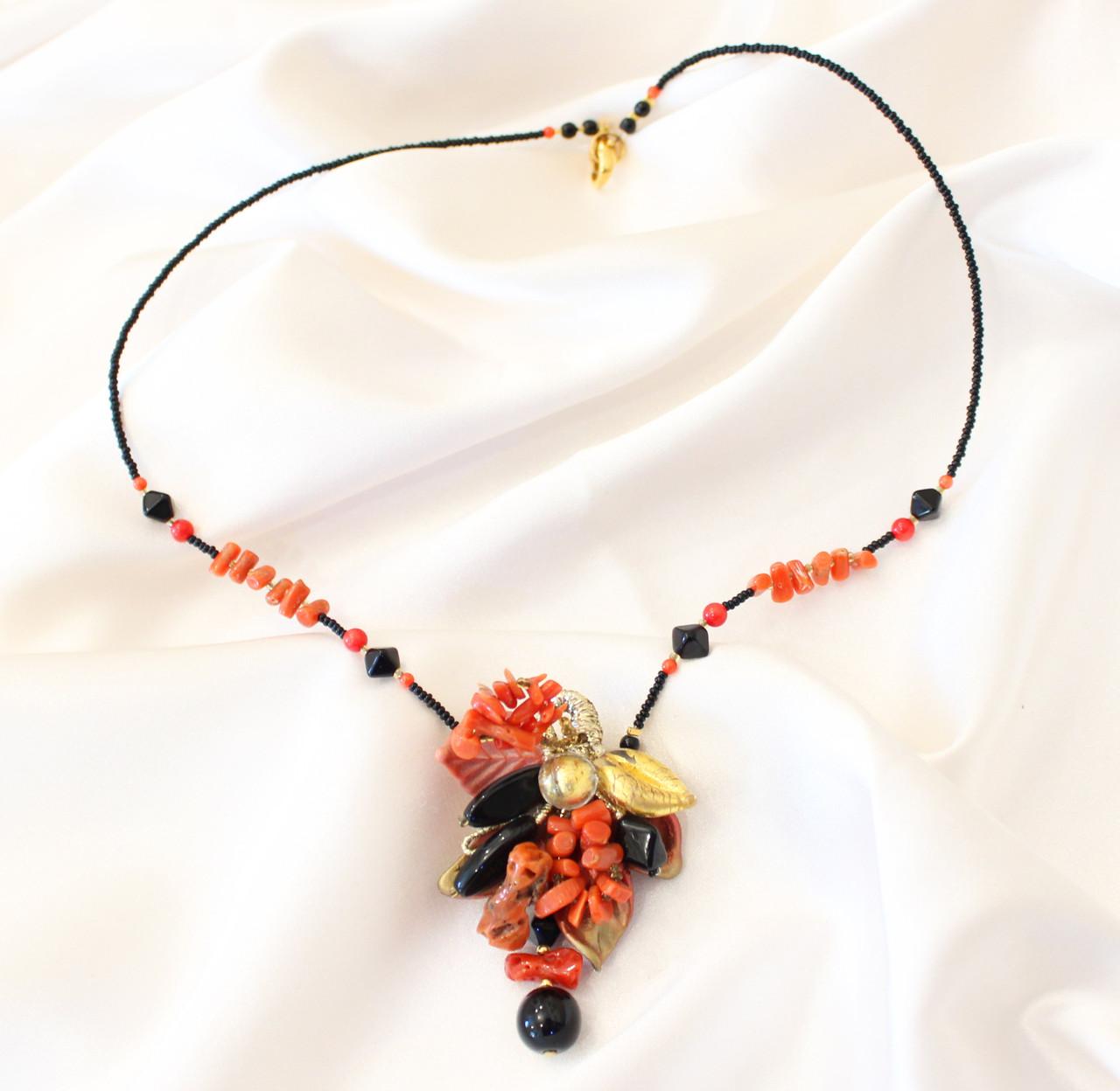 Ожерелье из муранского стекла