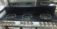 Газовая плита 6-ти конфорочная