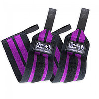 Gorilla Wear Бинты кистевые Women's Wrist Wraps Black/Purple