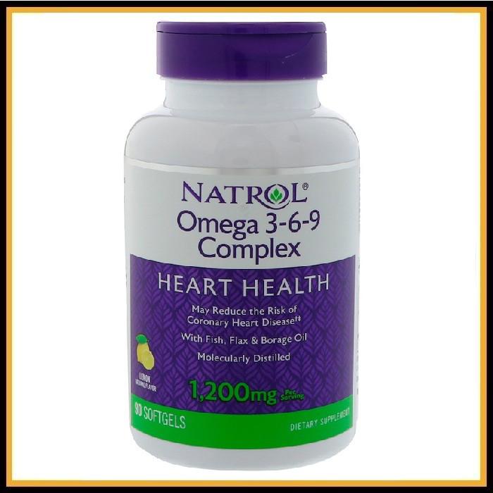 Natrol Omega 3-6-9 (90кап)