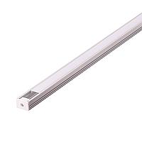 Алюминиевый профиль для светодиодных линеек с экраном, фото 1