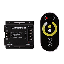 Контроллер 3-PIN W/WW (сенсорный Радио ДПУ) 144W(12A),12V, 3000К-6500К
