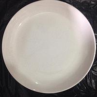 Блюдо диаметр 20 см костяной фарфор
