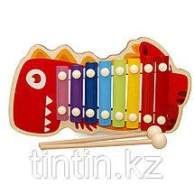 Детский ксилофон 8 нот (дерево, метал), фото 3