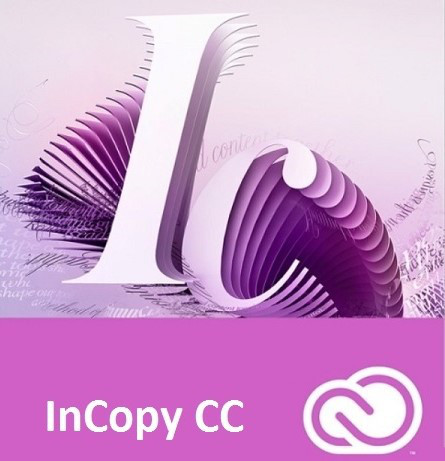 InCopy CC for Teams Multiple Platforms Multi European Languages New Subscription 12 months