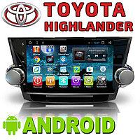 Автомагнитола AutoLine Toyota Highlander. Android., фото 1