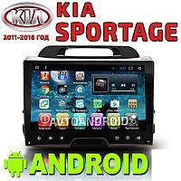 Автомагнитола AutoLine Kia Sportage. Android., фото 1