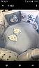 """Комплект в кроватку """"Мишки"""" 7 предметов  (для прямоугольной кроватки)"""