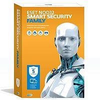 ESET NOD32 Smart Security Family – универсальная лицензия на 1 год на 5 устройств