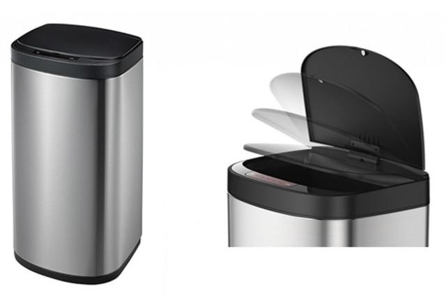 сенсорная корзина для мусора