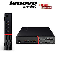Настольный компьютер Lenovo ThinkCentre M700 Tiny Intel Core i3-6100T /4GB DDR4 /500GB /KEYBOARD+Mouse /Win10P