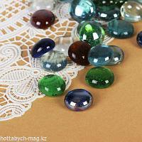 """Камень для декора """"Разноцветные плоские марблс"""" (200 г) 482681"""