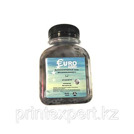 Тонер EURO TONER для HP CLJ CP2025 Universal Black химический (100 гр) , фото 2