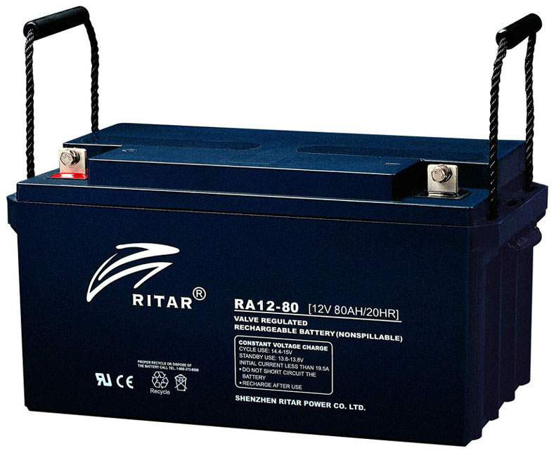 Аккумуляторная батарея Ritar RA12-80