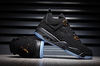 "Кроссовки Air Jordan 4(IV) ""Black/Gold/Glow"" (41-47)"