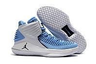 """Баскетбольные кроссовки Air Jordan XXXII (32) """"UNC Tar Heels"""" (40-46), фото 1"""