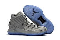 """Баскетбольные кроссовки Air Jordan XXXII (32) """"Grey/Ice"""" (40-46), фото 1"""