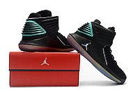 """Баскетбольные кроссовки Air Jordan XXXII (32) """"Black/Hyper Jade"""" (40-46), фото 6"""