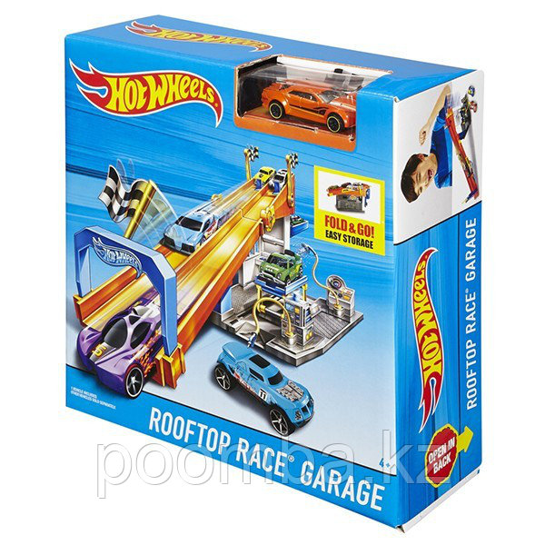 "Hot Wheels""Гонка на крыше"""