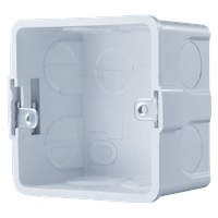 NDBOX - монтажная коробка для IP видеодомофонов NDM7, NDM7F, IP вызывных панелей ND11W и кнопок