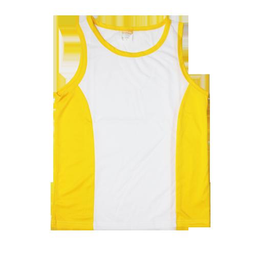 Майка/борцовка желтая размер от S до 3XL