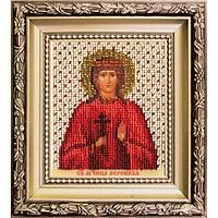 Б-1215 Икона святой мученицы Вероники. Чарівна Мить. Набор для вышивания бисером