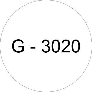 Винил белый G - 3020 (1,22м х 45,7м)