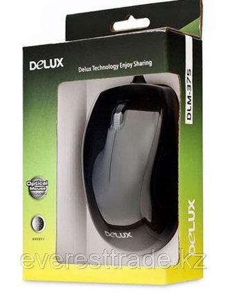 Мышь проводная Delux DLM-375OTB USB+PS/2, фото 2