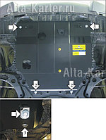 Защита картера,Mitsubishi Lanсer 10 2007-2014