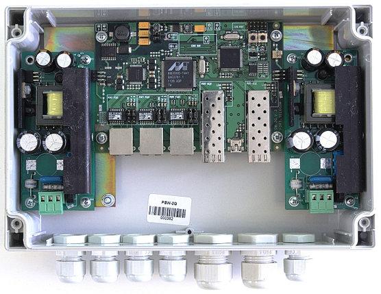 Коммутатор на 5 портов TFortis PSW-2G управляемый, фото 2