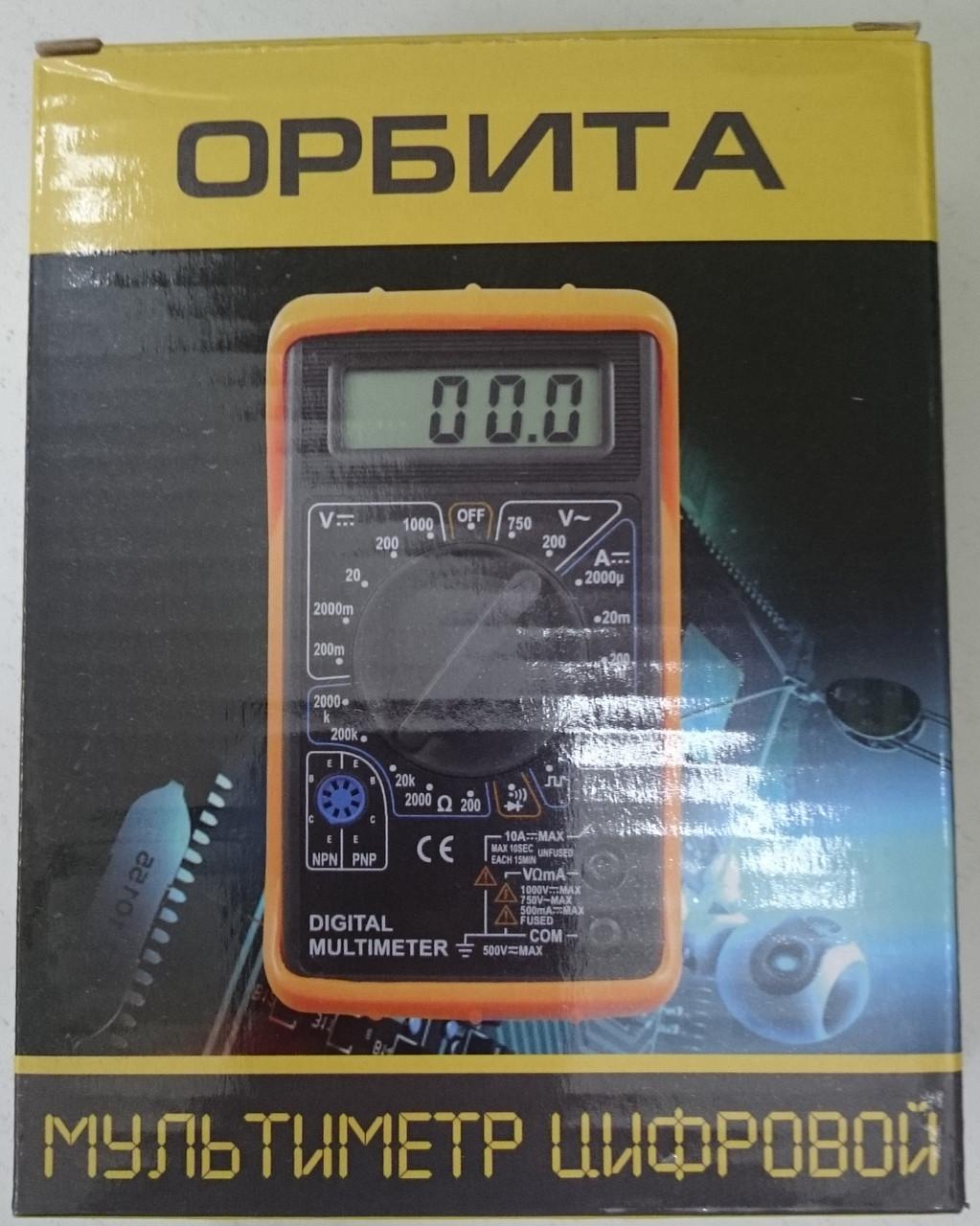 Мультиметр цифровой МD838P