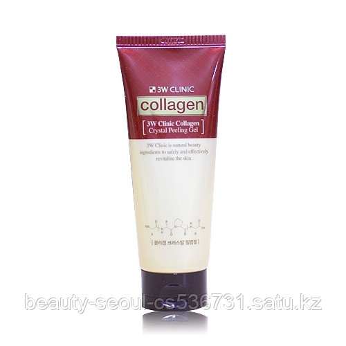 Пилинг гель 3W CLINIC COLLAGEN