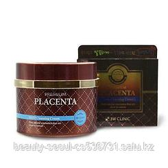 Очищающий крем 3W CLINIC PREMIUM PLACENTA DEEP CLEANSING CREAM