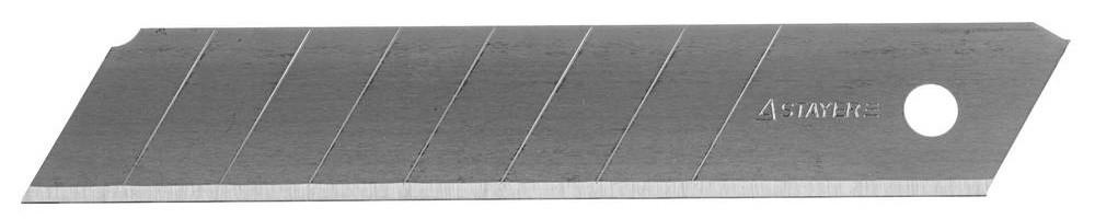 """(0915-S10) Лезвия STAYER """"PROFI"""" сегментированные, 18 мм, 10 шт, в боксе"""