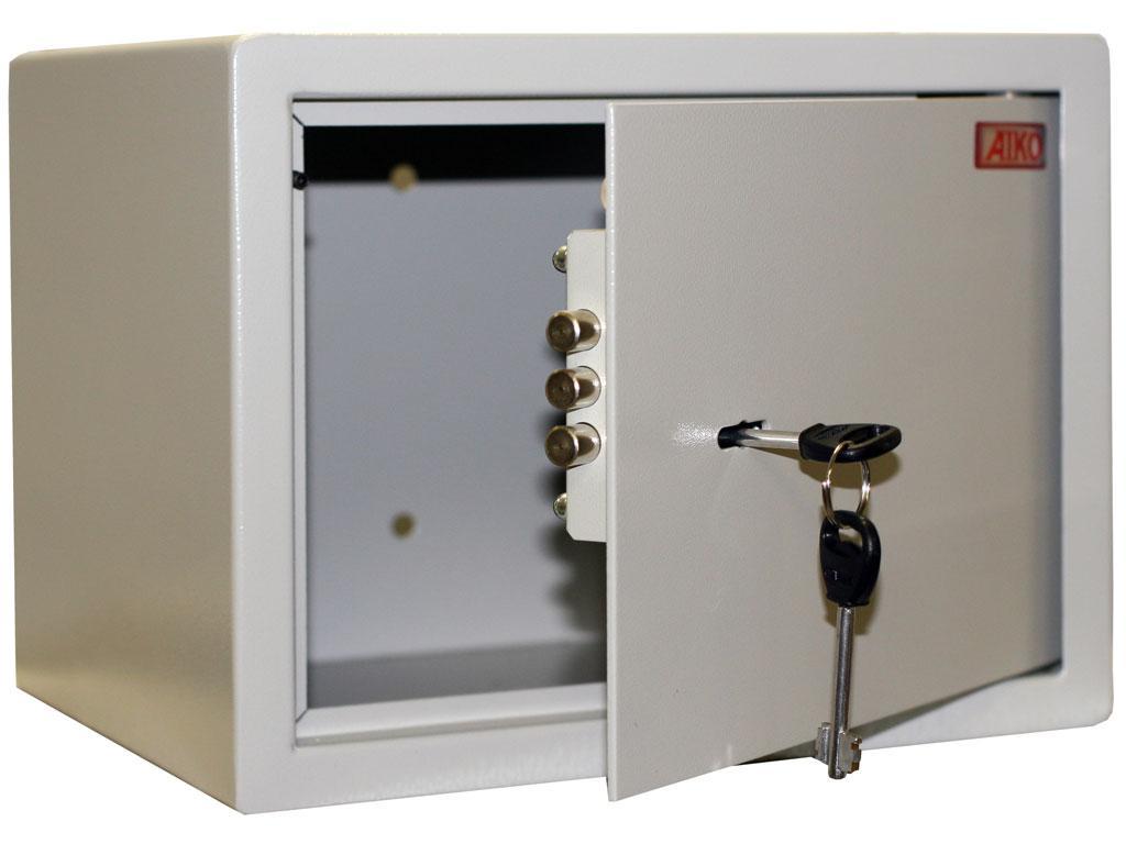 Офисный и мебельный сейф AIKO T-23 (230х300х255)