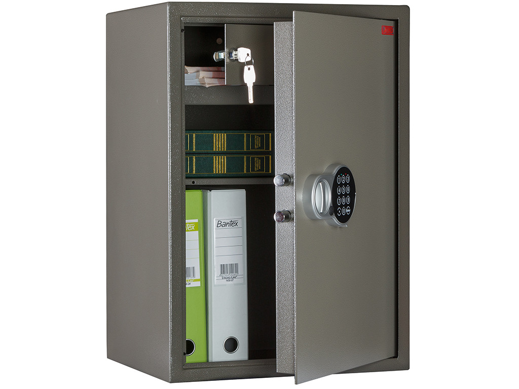 Офисный и мебельный сейф AIKO TM.63 ТEL (630х440х355)