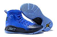 """Баскетбольные кроссовки Under Armour Curry IV """"Blue/Black"""" (36-46)"""