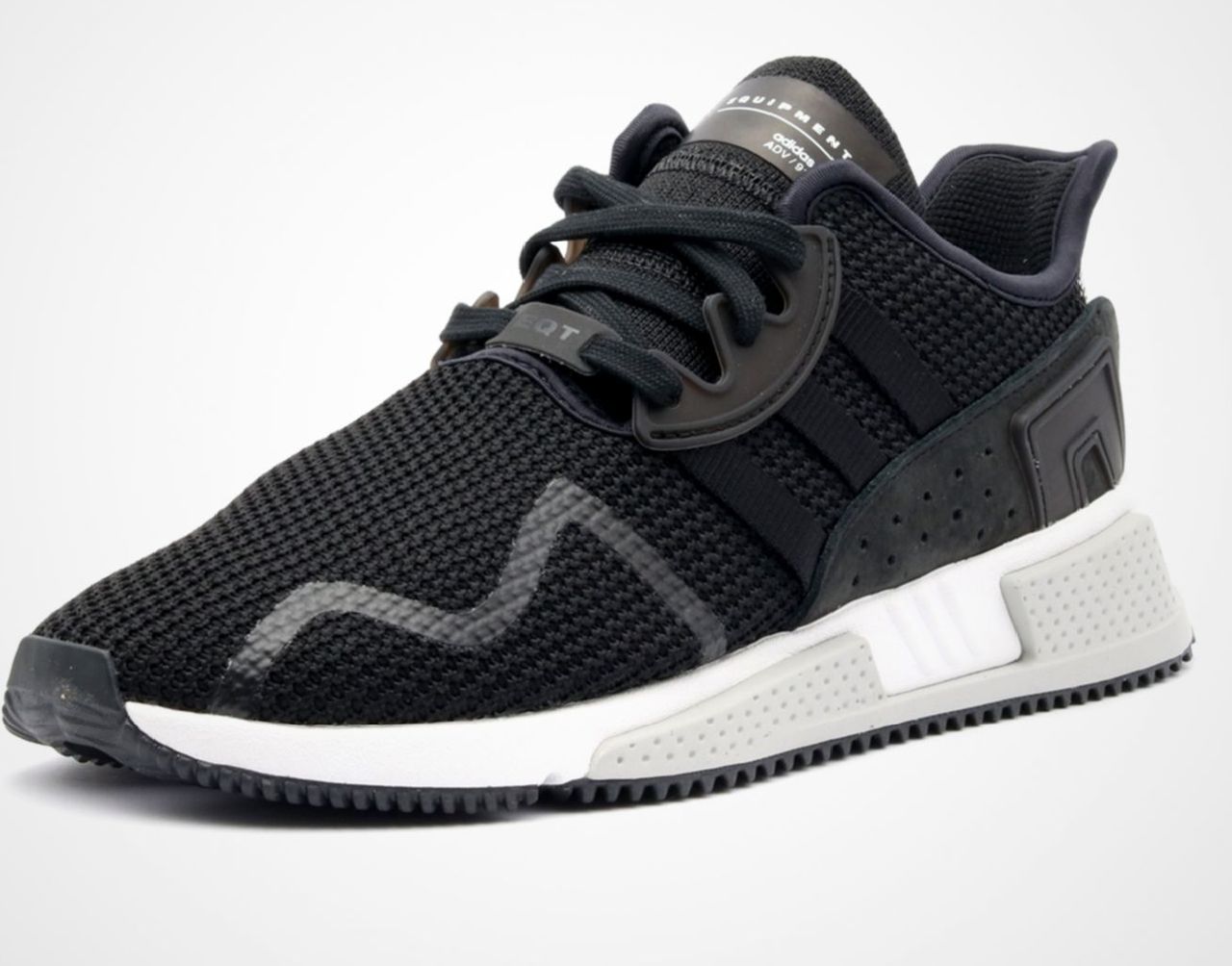Кроссовки ADIDAS EQT Cushion ADV Core Black размеры 36-45