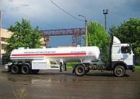 Прицеп бензовоза для перевозки горючих жидкостей